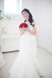 Bride's portrait Stock Images
