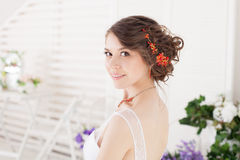 Bride's portrait Royalty Free Stock Photography