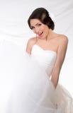 bride's portrait Stock Image