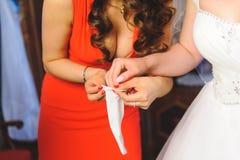 Bride's Preparation Stock Photos