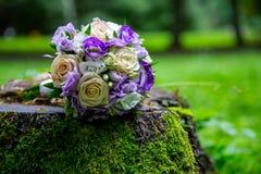 Bride's Wedding Bouquet Stock Photo