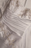 Bride's Wedding Gown Royalty Free Stock Photos
