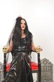 Bride of Satan sitting Stock Photo