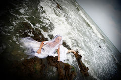 Bride of the sea Royalty Free Stock Photos
