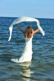Bride of the sea stock photos