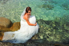 Bride of the sea Royalty Free Stock Photo