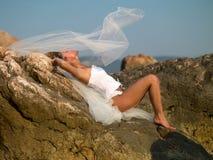 Bride of the sea Stock Photo