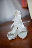 Bride shoes Royalty Free Stock Photos