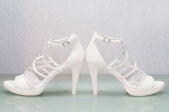 Bride shoes Royalty Free Stock Image