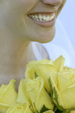 Bride smiles Royalty Free Stock Images