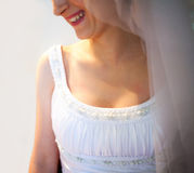 Bride smiling Royalty Free Stock Images