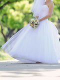 Bride in Splendid Dress Royalty Free Stock Images