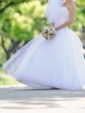 Bride in Splendid Dress Royalty Free Stock Images