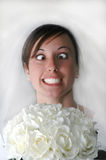 Bride Stress Stock Image