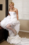 Bride Striptease #6 Royalty Free Stock Images