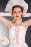 Bride in the studio Stock Photography