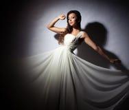 Bride studio portrait Stock Photography