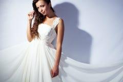 Bride studio portrait Royalty Free Stock Images