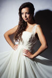 Bride studio portrait Stock Images