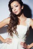 Bride studio portrait Stock Photo