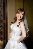 Bride Three Quarters Pose Stock Photos