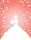 Bride To Be Background Royalty Free Stock Image