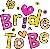 Bride to Be vector illustration
