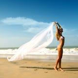 Bride vacation Royalty Free Stock Image