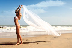 Bride vacation Royalty Free Stock Images