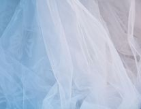 Bride veil texture and background Royalty Free Stock Images
