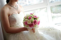 Bride in wedding Royalty Free Stock Photography