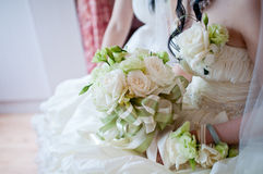 Bride in wedding Stock Photography