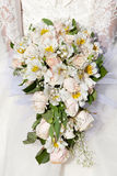 Bride with a wedding bouquet. The bride with a wedding bouquet Royalty Free Stock Photo