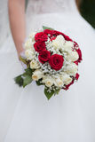 The bride with a wedding bouquet. Bride with a wedding bouquet Royalty Free Stock Photos