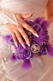 Bride Wedding bouquet Royalty Free Stock Photo