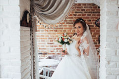 Bride wedding day best in my life. Bride wedding day. best day in my life stock photography