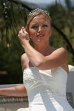 Bride in wedding dress Royalty Free Stock Photo