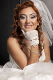 Bride in Wedding dress Royalty Free Stock Photos