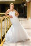 Bride in a wedding dress pre wedding portrait Royalty Free Stock Photo