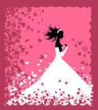 Bride. Wedding illustration Stock Photo
