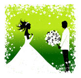 Bride. Wedding illustration Stock Photography