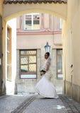 Bride on wedding Stock Photos