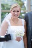 Bride on a wedding Stock Photo