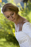 Bride in white Royalty Free Stock Images