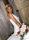 Bride in white Royalty Free Stock Photography