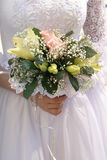 Bride wiht bouquet Royalty Free Stock Photo