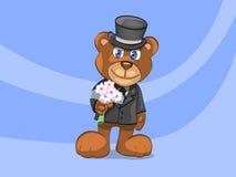bridegroom медведя Стоковые Изображения RF
