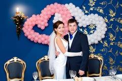 bridegroom невесты банкета Стоковая Фотография RF
