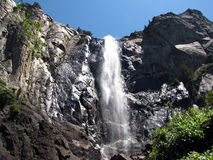 Bridelvail Falls - Yosemite National Park Stock Image