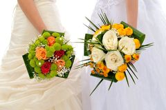 Brides Royalty Free Stock Photo